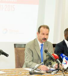 Press conference - Angola STARTUPPER OF THE YEAR BY TOTAL challenge