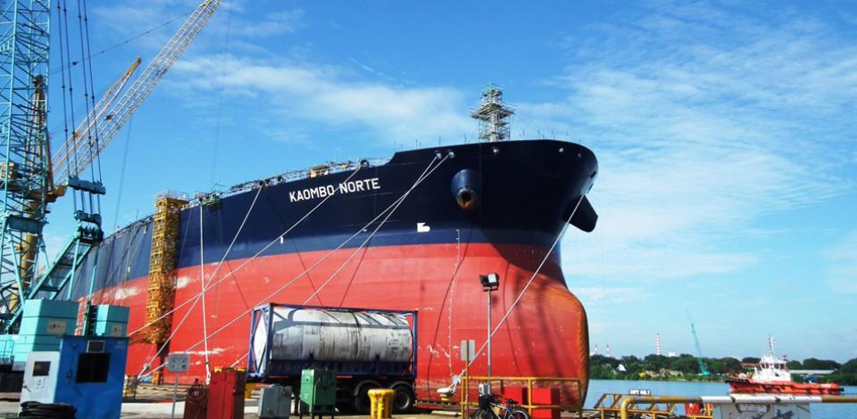 Kaombo, an ultra-deep offshore project - Total in Angola